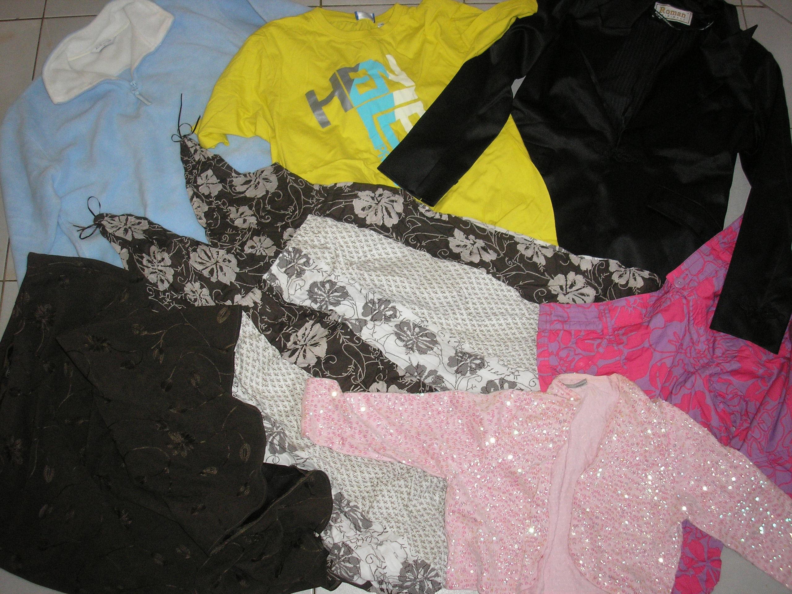 Nadměrné oděvy celoroční - velkoobchod second hand Autex 9349a420a3
