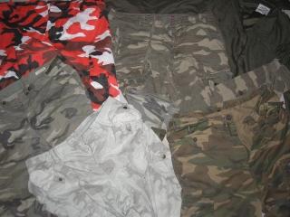 Maskáčové oblečení 165 Kč 10 kg eaad8b7275